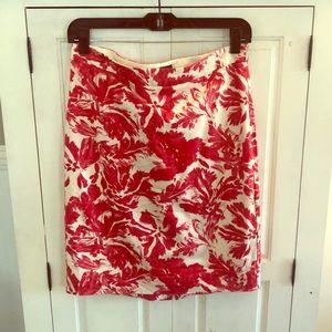 Beautiful Bright Print Pencil Skirt